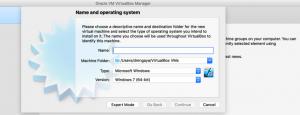 Image virtual box manager 1